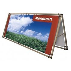 monsoon banner frames 3 sizes for outdoor promotions check out indigo displays price busting