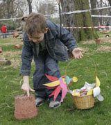 Celebrating Easter in France: Easter Egg Hunt in Colmar, Alsace