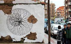David de la Mano – Orbita New Mural @ Salamanca, Spain