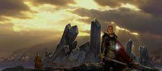 Dragonlance, Dark Desciple Trilogy, Amber and Blood by Matt Stawicki.