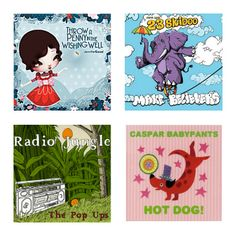 A list of the top kids' music of the entire year. Congrats to all the artists who made these amazing albums!