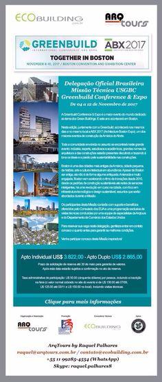 Blog do Macêdo - Arquitetura e Sustentabilidade: Participe da Missão Técnica GreenBuild Conference ...