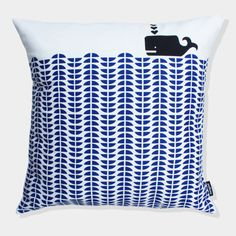 whale cushion [mengsel] @Trish Williams you would like this...