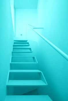 Turquoise | stairs