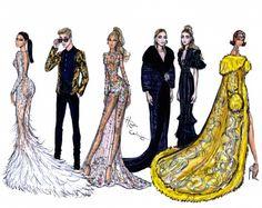 #MetGala2015 Justin Bieber, Beyoncé, Kim Kardashian West, Rihanna, and Mary-Kate & Ashley. #ChinaLookingGlass