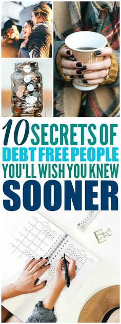 These 10 habits of debt free people are THE BEST! I'm so happy I found these AWESOME money saving tips! Now I have some great ideas on how to save money, debt payoff, and getting better with finances! #moneytips #moneyteam #moneymotivated #moneysavinghacks