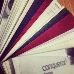 #Conqueror paper sample book