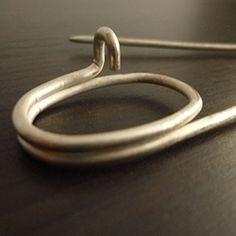 silver pin | www.habutextiles.com