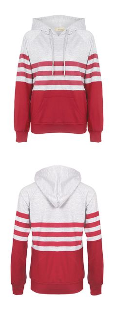 Busy with life as time goes by, sometimes you need such a relaxing sweatshirt! Interested in the casual trends for the whole winter? More hooded sweatshirts come for you at FIREVOGUE.COM