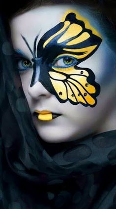 25 AMAZING FACE PAINTINGS | Life Styles Life