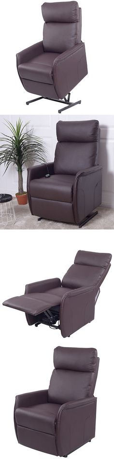 Stairlifts and Elevators: Electric Power Lift Chair Recliner Sofa Pu Leather Padded Seat Living Room Brown -> BUY IT NOW ONLY: $249.99 on eBay!