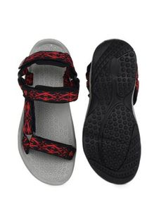 a33bdfd21dc4e3 Roadster Men Sports Navy and Red Sports Sandals