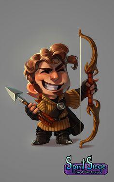 The Longbowman by CPatten.deviantart.com on @DeviantArt