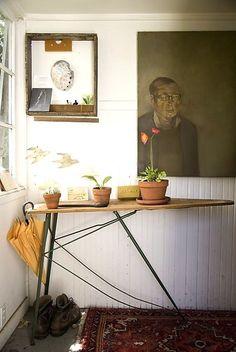 Vintage Ironing Board Remodelista