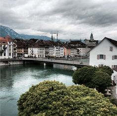 Solothurn France, Central Europe, Switzerland, Mansions, House Styles, Instagram, Travel, Viajes, Pictures
