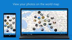 GeoPhoto, l'app per visualizzare le foto geolocalizzate sulla mappa GRATIS nella versione Pro! https://www.sapereweb.it/geophoto-lapp-per-visualizzare-le-foto-geolocalizzate-sulla-mappa-gratis-nella-versione-pro/        GeoPhoto è un'applicazione disponibile su Windows 10, Windows 10 Mobile e Windows Phone 8.1 che permette di visualizzare le nostre foto geolocalizzate su mappa. GeoPhoto In particolare, tramite l'app GeoPhoto è possibile:  Visualizza tutte le foto ge