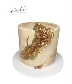 Fault Line Inspired Gold Naked Cake! Perfect for any rustic yet modern event! Call or email to order your celebration cake today! Click visit to learn more. I M Engaged, Cakes Today, Cupcake Wars, Gold Cake, Celebration Cakes, Custom Cakes, Food Network Recipes, Cake Decorating, Wedding Cakes