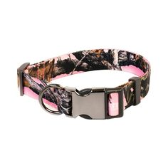 Pet Champion Hunting No Pull Extra Durable Adjustable Dog Collar, Strategy Pink Camo, Large/ Extra Large x -- Read more at the image link. (This is an affiliate link and I receive a commission for the sales) Pink Dog Collars, Diy Dog Collar, Puppy Collars, Dog Ramp, Hunting Dogs, Hunting Camouflage, Hunting Cabin, Pet Life