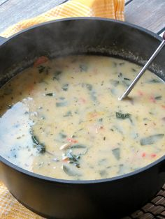 Delicious Chicken Florentine Soup
