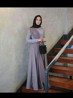 designers list mens keychains updates in pakistan Hijab Prom Dress, Hijab Gown, Kebaya Hijab, Kebaya Dress, Kebaya Muslim, Muslim Dress, Dress Outfits, Abaya Style, Hijab Style