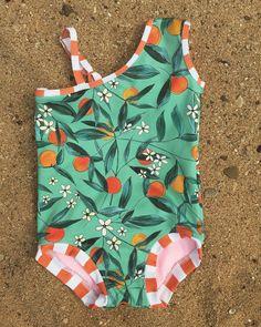 a7ab4ea395b Adorable handmade kid's bathing suit by @naisishhandmade Kids Bathing Suits,  Swimwear Fashion, Bikini