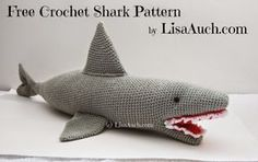 free crochet shark pattern