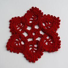 crochet motif - free chart here https://www.flickr.com/photos/deleewit/8640132060/in/photostream/