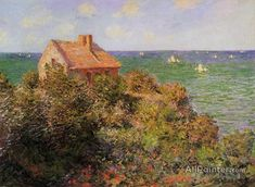 Claude Monet Fisherman's Cottage At Varengeville oil painting reproductions for sale