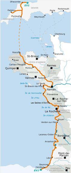1200 kilomètres à vélo le long de l'atlantique ! La Vélodyssée, un rêve, un jour peut être ... West Coast ;)