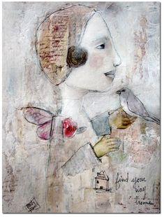 Misty Mawn's art is so dreamy, I love it.