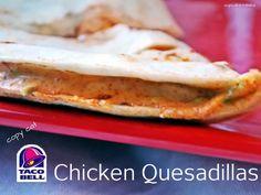 copycat Taco Bell Chicken Quesadillas by @cupcake_n_bake yummy!
