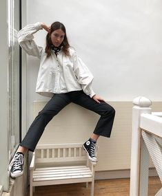 Latest top trends of women's fashion for s/s 2018 and f/w 2019 Mode Outfits, Casual Outfits, Fashion Outfits, Womens Fashion, Fashion Trends, Oldschool, Winter Mode, Mode Inspiration, Tweed