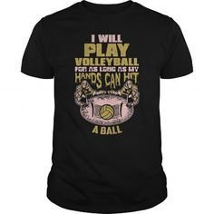 I Love I will Volleyball  0416 T-Shirts