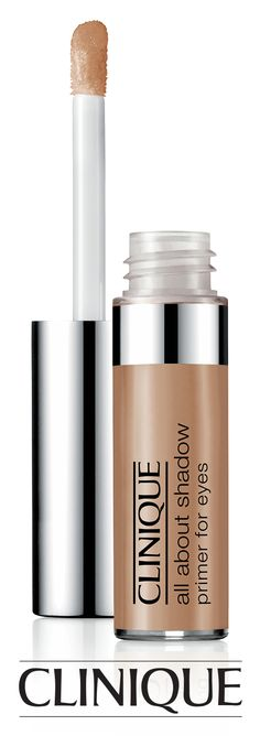 Keep your #bridal eyeshadow in place for up to 12 hours with #Clinique All About Shadow Primer For Eyes.