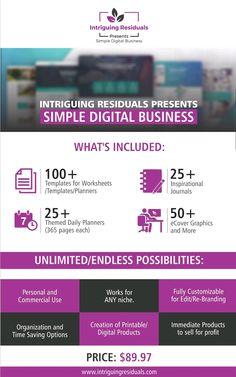 Planner Template, Journal Inspiration, It Works, Branding, Templates, Digital, Brand Management, Stencils, Vorlage