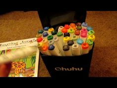 Set of 40 Markers from Ohuhu $21 99