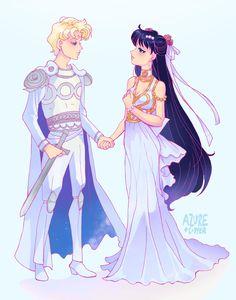 Princess Rei and Knight Jadeite
