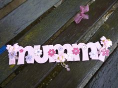 Handpainted wooden MUMMY sign for Mother's by KatijanesCreations, Mothers, Hand Painted, Signs, Jewelry, Jewels, Novelty Signs, Schmuck, Jewerly, Jewelery