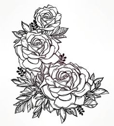 You should get a floral tattoo