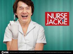 Nurse Jackie, Jackie Chan. HA HA