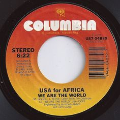 on Billboard / Africa / Toto 70s Music, I Love Music, Music Is Life, Music Songs, 45 Records, Vinyl Records, Record Art, We Are The World, Oldies But Goodies