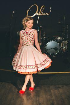 rockabilly night rockabilly cherry dress rockabilly party