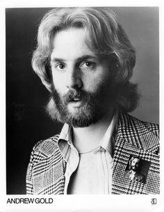Andrew Gold promo shot circa 1976.  Wearing a pin, wearing a pin, wearing a pin. #andrewgold