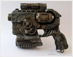 very cool mod...i have the same gun and needed some inspiration for it.    Steampunk Ray gun 3 by ~Diarment on deviantART
