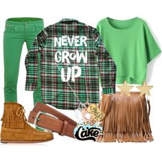 """Cakeworthy's """"Never Grow Up"""" Flannel"""