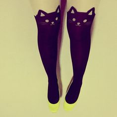 Kitty tights saw these at nordstroms!