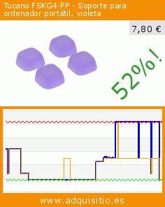 Tucano FSKG4-PP - Soporte para ordenador portátil, violeta (Electrónica). Baja 52%! Precio actual 7,80 €, el precio anterior fue de 16,37 €. https://www.adquisitio.es/tucano/fskg4-pp-violeta-30-g