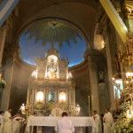 Mons. Urbanč en la Misa Solemne de las Festividades de la Virgen del Valle