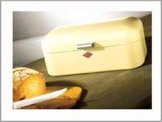 Wesco - Grandy - Brødboks - Fant ikke bilde av den knallgule, men den er kanskje den aller fineste...?