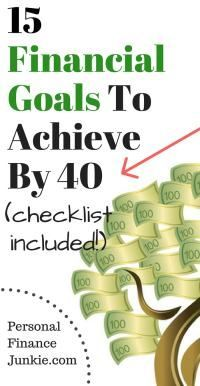 All of the RIGHT financial goals to achieve to reach financial freedom. #goals #personalfinancejunkie